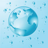 Earth water Stock Images