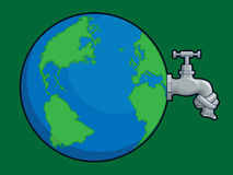 Earth Water Problem Stock Photos