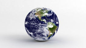 Earth on White Royalty Free Stock Image