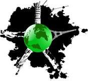 Earth wish landmarks Stock Photo