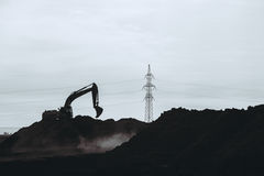 Earth works and construction Stock Photography