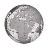 EARTH WORLD GLOBE Royalty Free Stock Photography