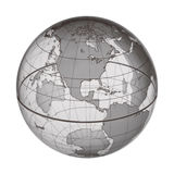 EARTH WORLD GLOBE BACKGROUND Royalty Free Stock Image