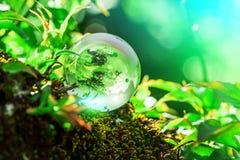 Earth World Globe Crystal Royalty Free Stock Photos