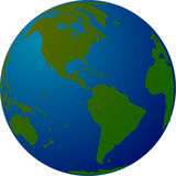Earth, World, Globe, Map, Planet Stock Photography
