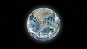 Earth Zoom Slow. Video of Earth Zoom Slow stock video footage