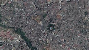 Earth Zoom In Zoom Out Addis Ababa Ethiopia