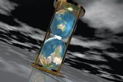 earth1 hourglass royalty ilustracja