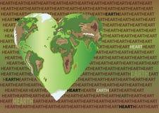 Eartheart Immagine Stock