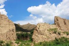 Earthen Great Wall Stock Image