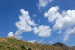 Earthen Great Wall Royalty Free Stock Images