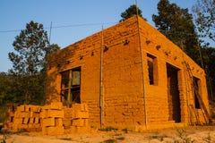 Earthen house Stock Photo