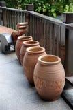 Earthen jar Stock Image