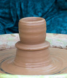 An earthen jar Royalty Free Stock Image