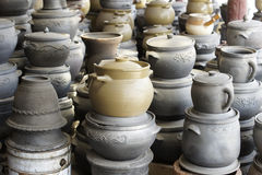 Earthen jar Stock Images