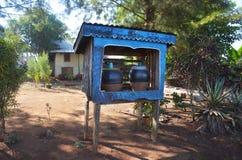 Earthen jar water Stock Image