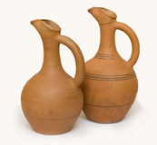 Earthen vessels Stock Photos