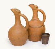 Earthen vessels Royalty Free Stock Photography