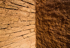 Earthen wall Royalty Free Stock Image