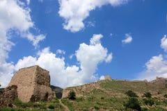 Earthen wielki mur Zdjęcie Royalty Free