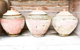 The earthenware Royalty Free Stock Images