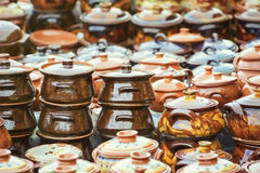 Earthenware Crockery Royalty Free Stock Photography