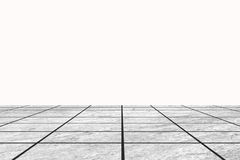 Earthenware floor tile with blank white space Royalty Free Stock Photography