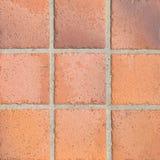 Earthenware floor tile Stock Photos