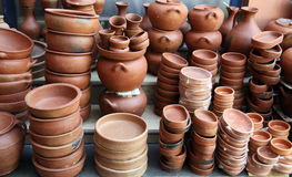 earthenware garnek Obraz Royalty Free