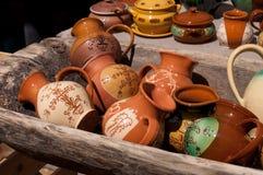 Earthenware jug Royalty Free Stock Image
