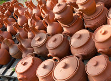 Earthenware on the market. the Republic of Georgia. The Caucasus. Earthenware on the market. the Republic of Georgia Stock Images