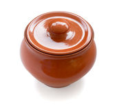 Earthenware pot Royalty Free Stock Photo
