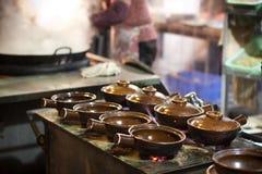 Earthenware pot Stock Photo
