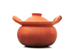 Earthenware,pot. Clay pots made of clay material and then fire of ancient times Royalty Free Stock Photography