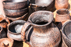 Earthenware pottery Royalty Free Stock Photos
