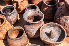 Earthenware pottery Royalty Free Stock Image