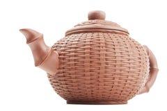 Earthenware teapot Royalty Free Stock Photo