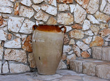 Earthenware vessel Stock Image
