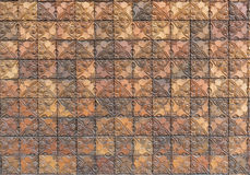 Earthenware wall tiles seamless background and texture Royalty Free Stock Image