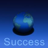 Earthly Success Royalty Free Stock Photos