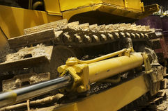 Earthmover. In mining field, Philippines Royalty Free Stock Photography