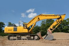 Earthmover Royalty Free Stock Images