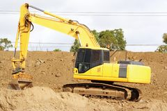 Earthmover Royalty Free Stock Photography