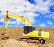 Earthmover Royalty Free Stock Image
