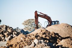Earthmoving Equipment Stock Photography