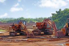 Earthmoving Equipment Royalty Free Stock Image
