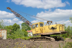 Earthmoving machines Royalty Free Stock Images