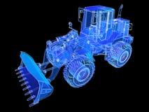 Earthmoving Vehicle. Royalty Free Stock Image