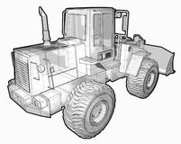 Earthmoving Vehicle. Stock Image