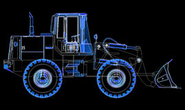 Earthmoving Vehicle. Stock Images
